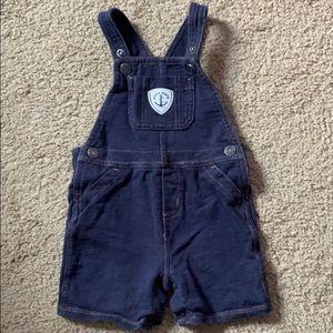 carters baby boy shortfalls with shirt